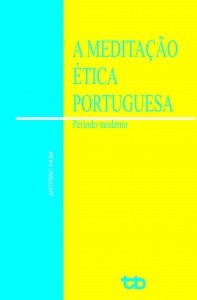 capa a meditação ética portuguesa